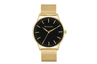 Winstonne Hudson in Gold Watch (Gold)