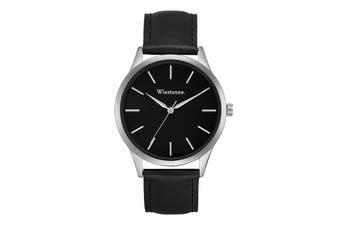 Winstonne Carson Watch (Silver)