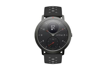 Withings Steel HR Sport Smart Activity Tracker (40mm, Black)