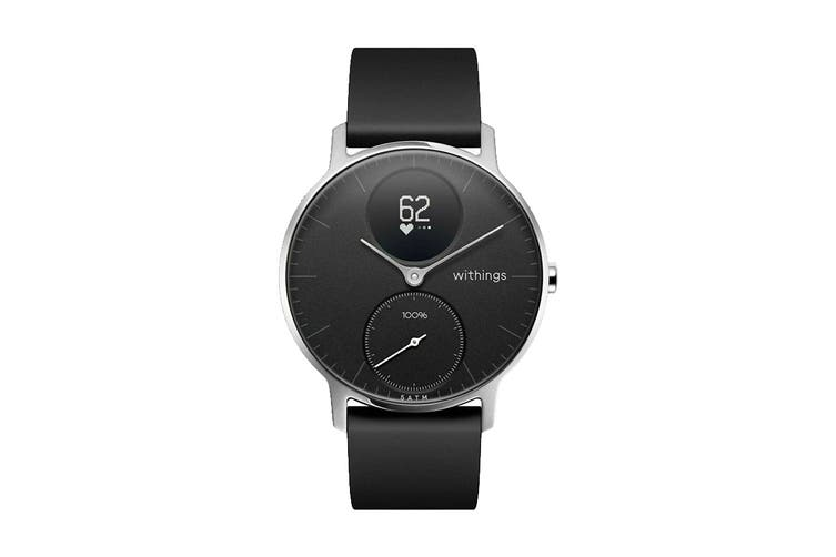 Withings Steel HR Smart Activity Tracker (36mm, Black)