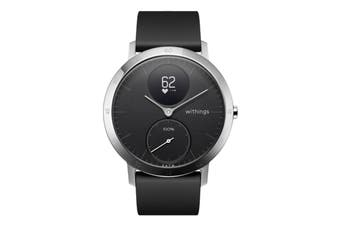 Withings Steel HR 40mm (Black, Black Band)