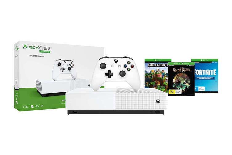 Xbox One S Console 1TB All Digital Edition