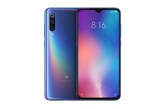 Xiaomi Mi 9 (128GB, Ocean Blue) - Global Model