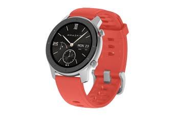 Xiaomi AmazFit GTR 42mm Smart Watch (Coral Red)