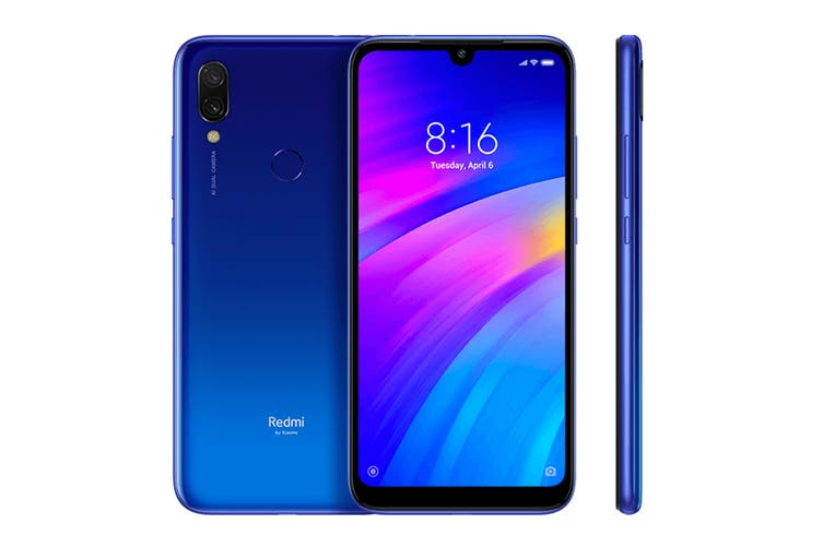 Xiaomi Redmi 7 (16GB, Blue) - Global Model