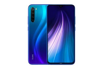 Xiaomi Redmi Note 8 (128GB, Blue) - Global Model