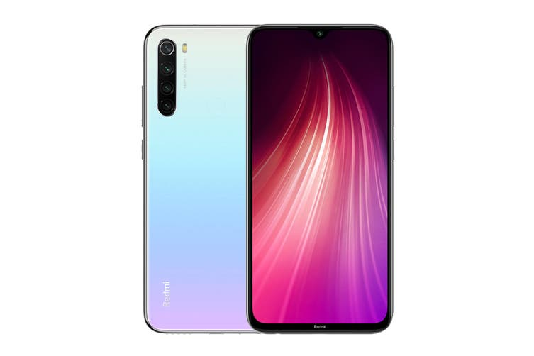 Xiaomi Redmi Note 8 (64GB, White) - Global Model