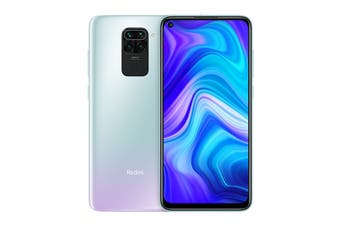 Xiaomi Redmi Note 9 with NFC (64GB, Polar White)