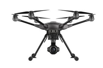 Yuneec Typhoon H Drone Plus Bundle with 2 x Batteries & Backpack - Black