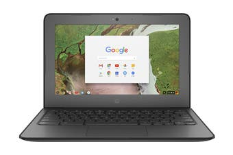 "HP 11.6"" HD ChromeBook 11 G6 Education Celeron N3350 4GB RAM 16GB eMMC Chrome OS Laptop (HP-3QN38PA)"