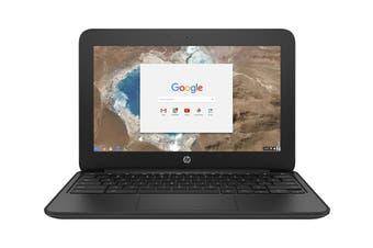 "HP 11.6"" HD Chromebook 11 G5 Celeron N3060 4GB RAM 16GB eMMC Chrome OS Laptop (HP-1FX82UT)"