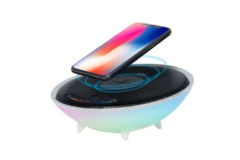 mBeat Wireless Charging Station With RGB Colour Charing Case