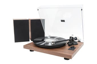 mbeat Bluetooth Hi-Fi Turntable with Speakers (MB-PT-28)