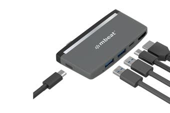 mbeat Essential Pro 5-IN-1 USB- C Hub (MB-UCH-59GRY)