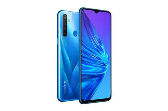 realme 5 (128GB, Crystal Blue)