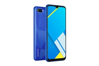 realme C2 (64GB, Diamond Blue)