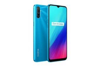 realme C3 (64GB, Frozen Blue)