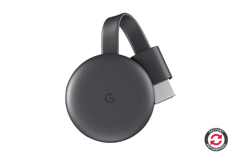 Google Chromecast 3 (Charcoal) - Refurbished