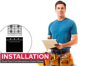 Dual Fuel Combinations Oven/Stove Installation