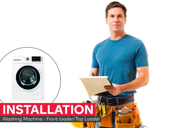 Washing Machine Installation - Front loader/Top Loader