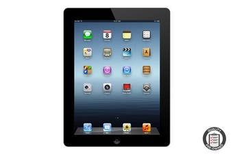 Apple iPad 3 Refurbished (32GB, Wi-Fi, Black) - AB Grade