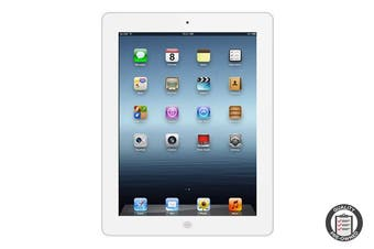 Apple iPad 4 Refurbished (32GB, Wi-Fi, White) - A Grade