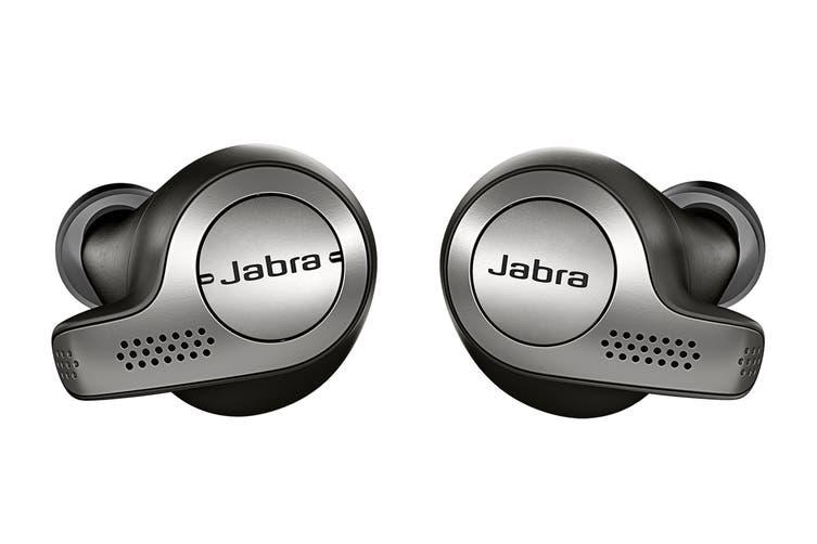 Jabra Elite 65t True Wireless Earphones (Titanium Black)
