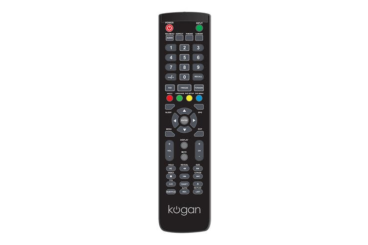 Kogan Remote for Z Series TVs (DVD)