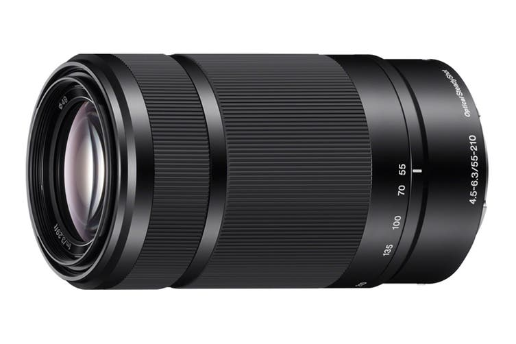 Sony SEL55210 E55-210mm F4.5-6.3 OSS Zoom Lens (Black)