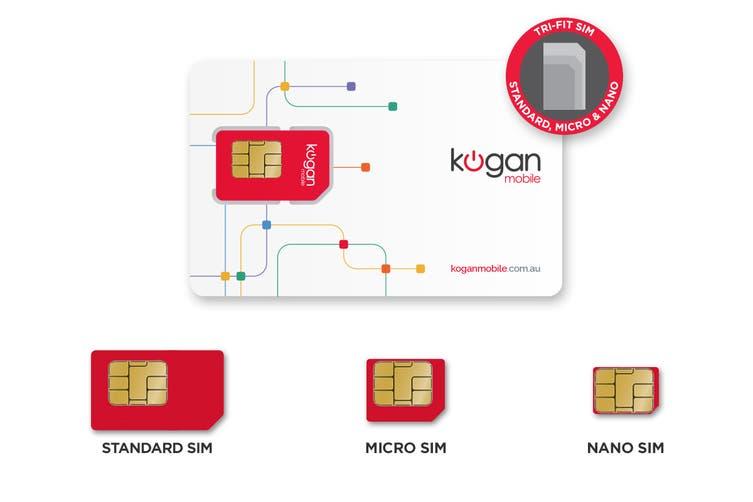 Kogan Mobile SIM - Prepaid Starter Pack