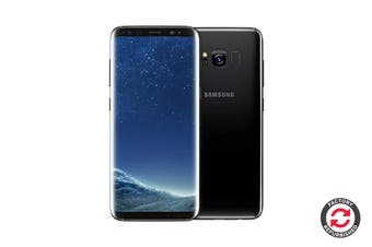 Refurbished Samsung Galaxy S8+ Dual SIM G955FD (64GB, Black)