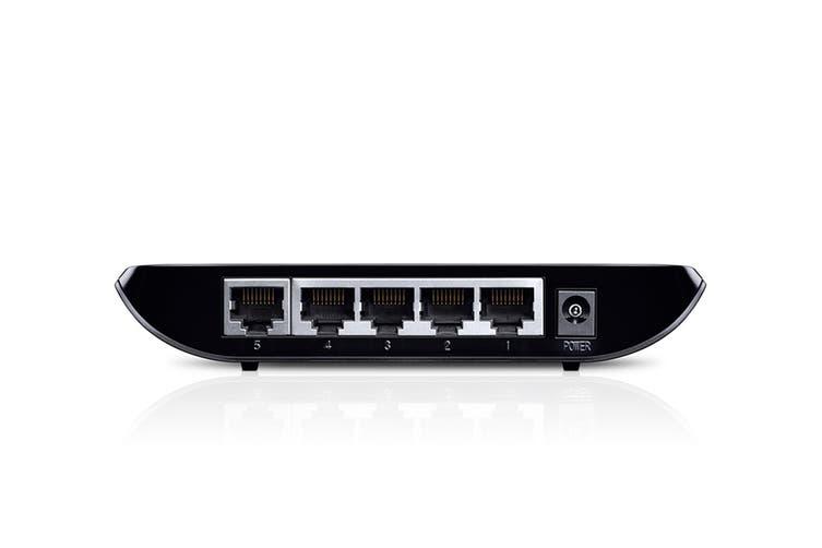 TP-LINK 5-port Desktop Gigabit Switch 5 10/100/1000M RJ45 ports (TL-SG1005D)