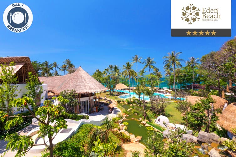 THAILAND: 5 Nights at Eden Beach Resort and Spa, Khao Lak for Two (Low Season)