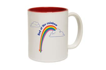 123T Funny Mugs - End Of The Rainbow - Red Coffee Cup