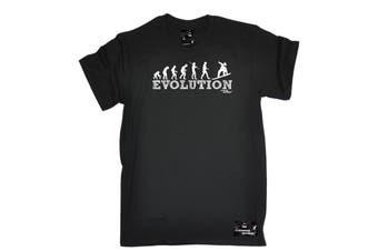 Powder Monkeez Snowboarding Tee - Board Evolution Snowboarder Mens T-Shirt
