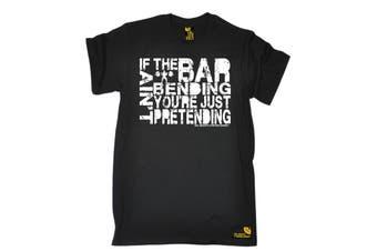 SWPS Gym Bodybuilding Tee - If The Bar Aint Bending Mens T-Shirt
