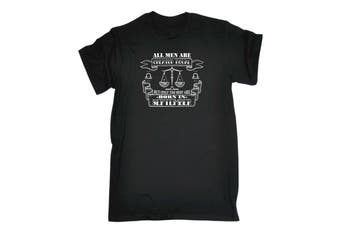 123T Funny Tee - Men September Libra Mens T-Shirt