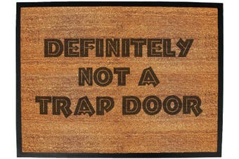 definitely not a trap door