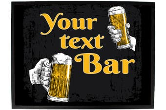 your text beer cheers bar