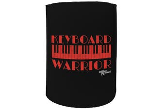 123t Stubby Holder - BM keyboard warrior MUSIC ROCK SONGS - Funny Novelty