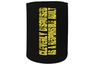 123t Stubby Holder - cleverly disguised - Funny Novelty