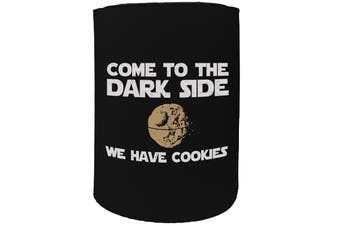 123t Stubby Holder - come to the dark side - Funny Novelty