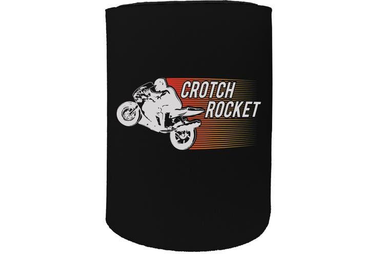 123t Stubby Holder - crotch rocket - Funny Novelty