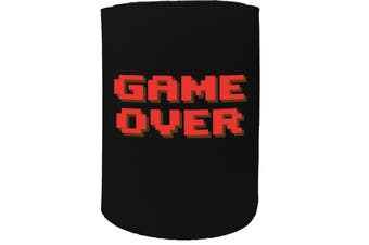 123t Stubby Holder - game over - Funny Novelty