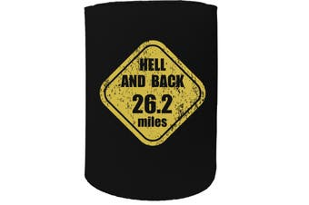 123t Stubby Holder - hell and back - Funny Novelty