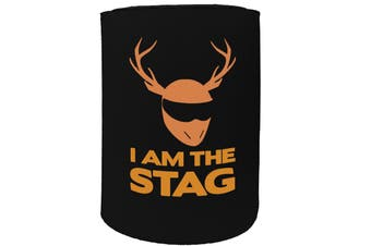 123t Stubby Holder - i am the stag - Funny Novelty