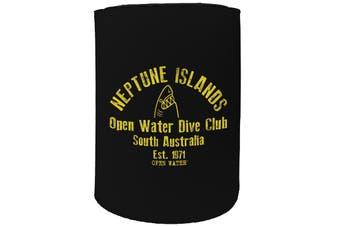 123t Stubby Holder - neptune islands - Funny Novelty