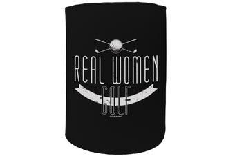 123t Stubby Holder - OOB real women golf - Funny Novelty