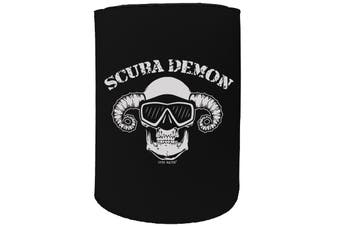 123t Stubby Holder - OW scuba demon SCUBA DIVING - Funny Novelty