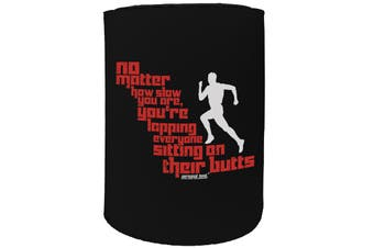123t Stubby Holder - PB no matter how slow FITNESS RUNNING - Funny Novelty